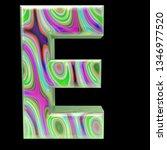 3d magic e | Shutterstock . vector #1346977520