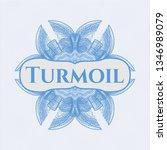 light blue passport money style ... | Shutterstock .eps vector #1346989079