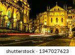 night porto city street lights... | Shutterstock . vector #1347027623