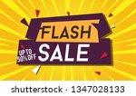 flash sale design for business... | Shutterstock .eps vector #1347028133