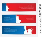 New York Banners   Vector...