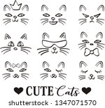 hand drawn vector illustrations ... | Shutterstock .eps vector #1347071570