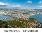 High View Of Calpe  In Alicant...