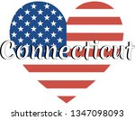 heart shaped national flag of... | Shutterstock .eps vector #1347098093