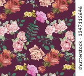 fashionable pattern in small... | Shutterstock .eps vector #1347112646