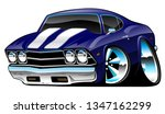 classic american muscle car... | Shutterstock .eps vector #1347162299