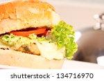 hamburger | Shutterstock . vector #134716970