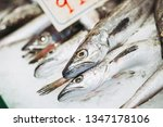 fresh fish at a fishmonger | Shutterstock . vector #1347178106