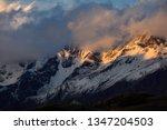 four girls mountain national... | Shutterstock . vector #1347204503