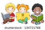 Illustration Of Happy Children...