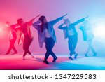 group of male and female... | Shutterstock . vector #1347229583