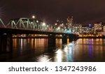 city at night | Shutterstock . vector #1347243986