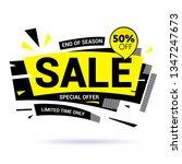 sale banner layout modern... | Shutterstock .eps vector #1347247673
