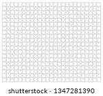 puzzle jigsaw template | Shutterstock . vector #1347281390
