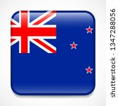 flag of new zealand. square... | Shutterstock . vector #1347288056
