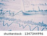 showing business and financial... | Shutterstock . vector #1347344996