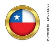 simple round chile golden badge ...
