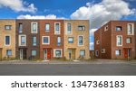 modern social housing in terra... | Shutterstock . vector #1347368183