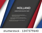 vector background with dutch...   Shutterstock .eps vector #1347379640