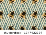 printable seamless pattern of... | Shutterstock . vector #1347422339