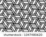 cubic pattern illustration | Shutterstock .eps vector #1347480620