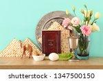 pesah celebration concept ... | Shutterstock . vector #1347500150