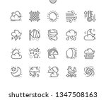weather forecast well crafted...   Shutterstock .eps vector #1347508163
