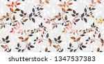 colorful digital wall tiles... | Shutterstock . vector #1347537383