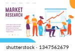 vector market reserch concept... | Shutterstock .eps vector #1347562679