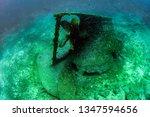 Propeller Ship Wreck Underwater ...
