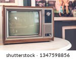 old and antique television  ... | Shutterstock . vector #1347598856