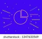 happy style graph icon ...   Shutterstock .eps vector #1347633569