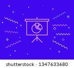happy style marker board for...   Shutterstock .eps vector #1347633680