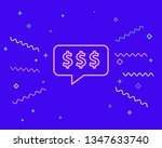 happy style thinking about...   Shutterstock .eps vector #1347633740
