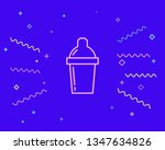 happy style shaker icon  ... | Shutterstock .eps vector #1347634826