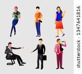 vector illustration character...   Shutterstock .eps vector #1347641816