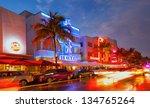 miami beach  florida  usa april ...   Shutterstock . vector #134765264