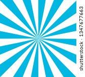 blue white sunbeam background.... | Shutterstock .eps vector #1347677663