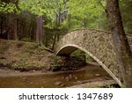 Moss Covered Stone Bridge...