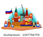 russia country design... | Shutterstock .eps vector #1347706793