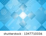 beautiful turquoise abstract... | Shutterstock . vector #1347710336