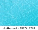 beautiful turquoise abstract... | Shutterstock . vector #1347714923