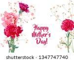 horizontal mother's day ... | Shutterstock .eps vector #1347747740