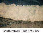 White Foamy Wave Rushing...