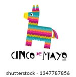 mexican fiesta banner and... | Shutterstock .eps vector #1347787856