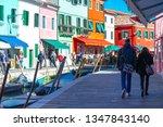 italy  venice  mart 2019  ... | Shutterstock . vector #1347843140