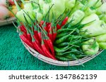 fruits and vegetables fresh... | Shutterstock . vector #1347862139