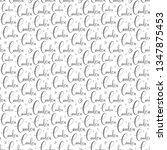 handlettering london pattern.... | Shutterstock .eps vector #1347875453