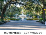 Fountain In Forsyth Park In...