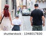 warsaw  poland   august 22 ...   Shutterstock . vector #1348017830